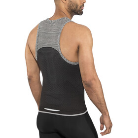 UYN Running Alpha OW Singlet Men Charcoal/Sleet Grey